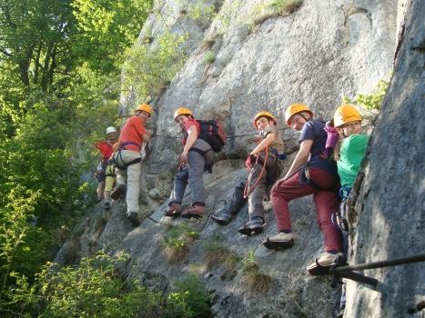 Klettersteigset Dav : Dav ansbach familiengruppe tourenberichte