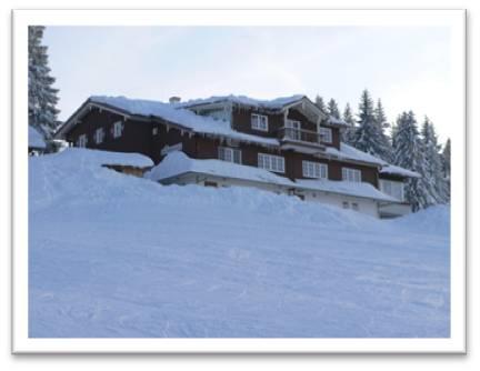 Imberghaus Im Winter