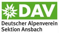 Logo Deutscher Alpenverein e.V. - Sektion Ansbach