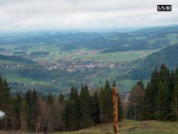 Blick auf Oberstaufen